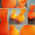 #3d printed vase #spiral print