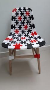 3D geprinte stoel